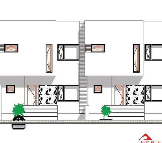 Duplex Floresti, 120 mp, 350 teren, semifinisat, zona buna