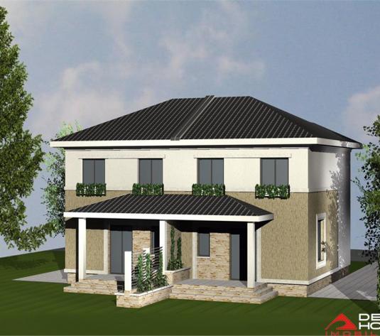 Casa tip duplex, Dambul Rotund, 116 mp utili, curte libera 300 mp