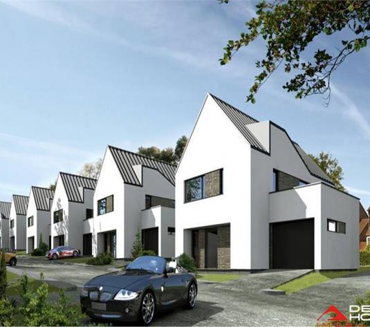 Casa individuala Borhanci, 170 mp util, teren 448 mp, proiect deosebit