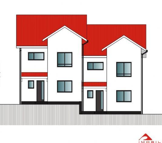 Casa tip duplex, Gruia, 120 mp util, teren 345 mp, proiect nou