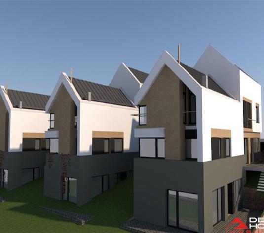 Duplex Manastur, 120 mp utili, teren 350 mp, proiect deosebit, zona Campului