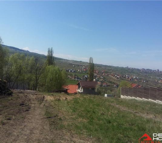 Teren cu autorizatie de constructie, Borhanci, 1000 mp, panorama