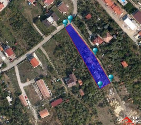 Teren construibil, Buna Ziua, 2000 mp, autorizatie constructie duplex
