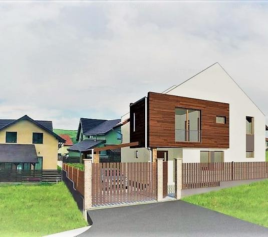Casa individuala 150 mp, 550 mp teren, cartierul Borhanci