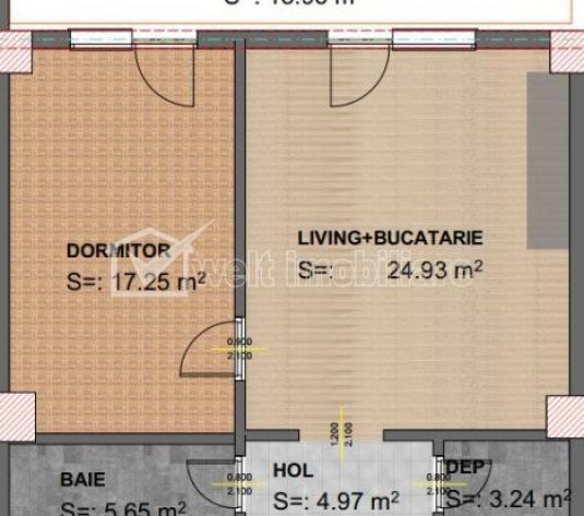 Vanzare apartament cu 2 camere, 56 mp, zona Ira.