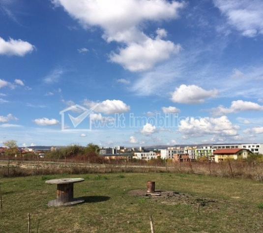 Teren 1600mp Borhanci, front 38m, PUZ aprobat, constructie case