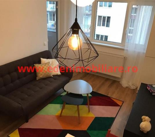 Apartament 2 camere de inchiriat in Cluj, zona Borhanci, 400 eur