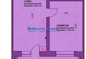 Vanzare studio 2 camere bloc nou zona Sanpetru , Subcetate Residence