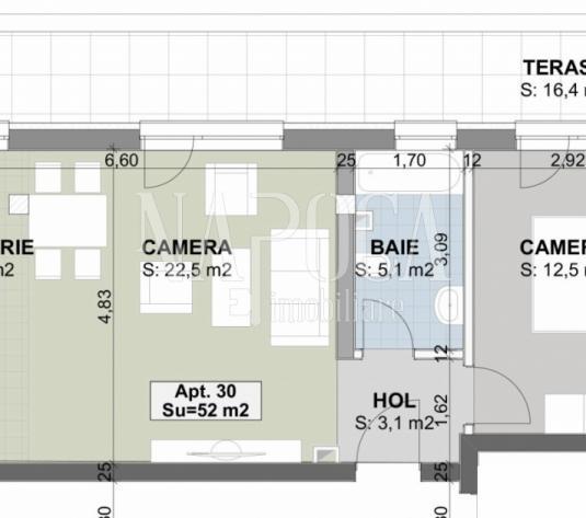 Apartament 2  camere de vanzare in Sannicoara, Sannicoara