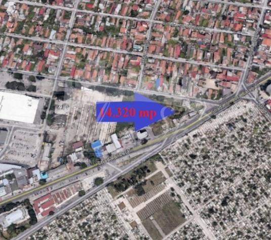 Teren 14320mp,excelent pentru constructie retail,centru comercial in Constanta - Zona Coiciu
