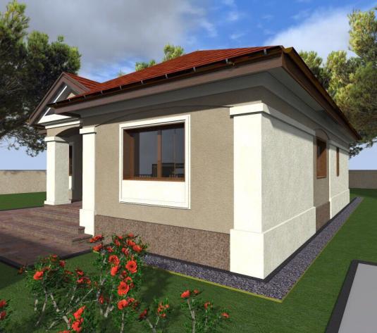 Casa pe parter Mosnita Noua-proiect deosebit