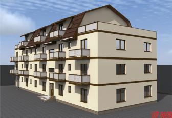 Apartament 2 camere cu terasa de 62 mp  Tractorul, Brasov