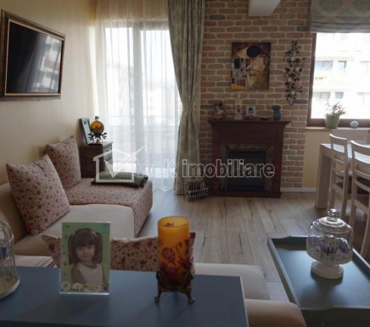 Apartament 4 camere, ultrafinisat, garaj, gradina 55mp, Floresti, Sub Cetate