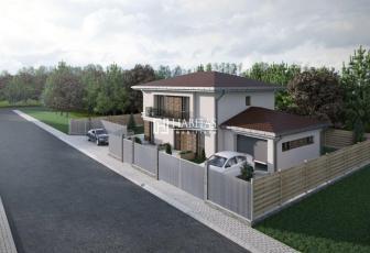 Casa individuala, teren 500 mp, garaj, beci, 3 locuri de parcare!