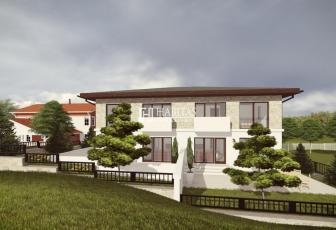 Teren 686 mp in Buna Ziua cu proiect pentru duplex