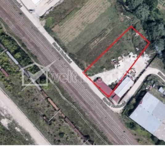 Teren pentru constructii industriale 2300mp, Baciu zona Prodvinalco