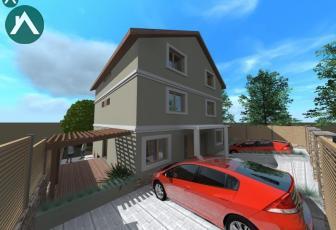 Duplex, P+E+M, 110mp, 4cam, teren, Sannicoara. - imagine 1