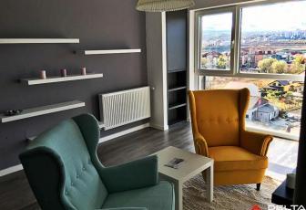 Apartament 2 camere Gheorgheni, ultrafinisat, mobilat si utilat complet
