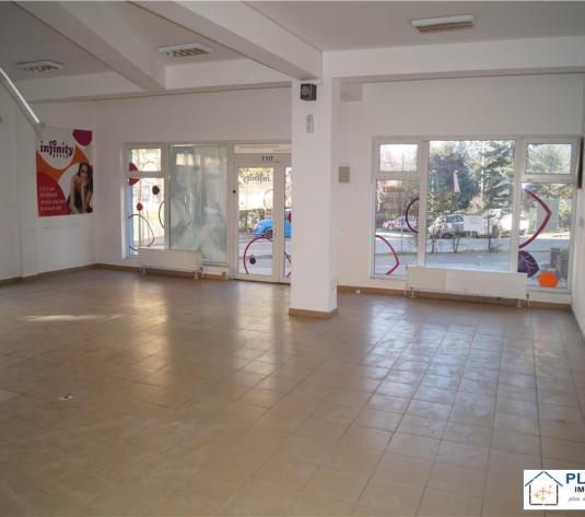 Spatiu comercial, parter, 107 m2, open space