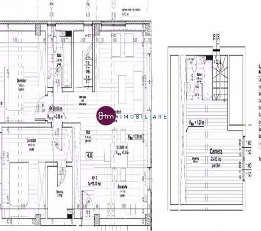 Vanzare apartament 4 camere, 110 mp, zona Buna Ziua!