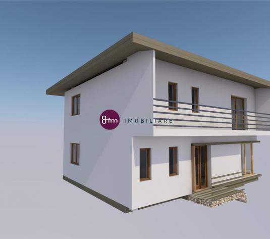 Vanzare casa individuala, 132 mp utili, 420 mp teren, zona Bonas!