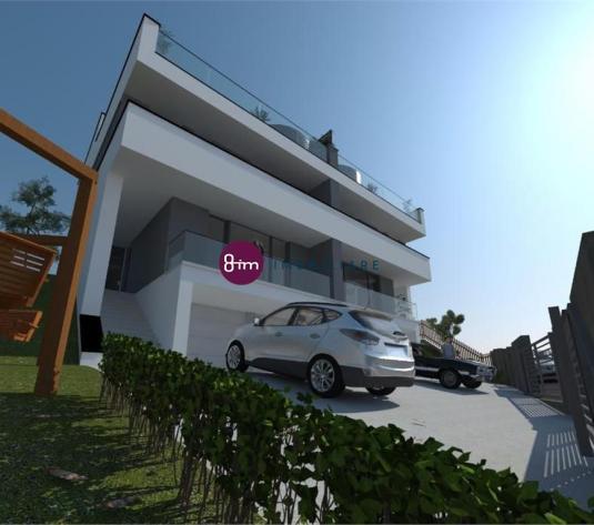 Casa Cuplata, 145 mp, 2 garaje, Terasa cu priveliste !