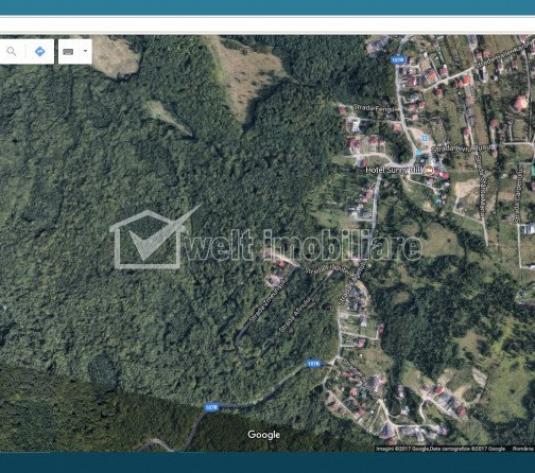 Teren de vanzare cu autorizatie casa individuala, Faget, Cluj