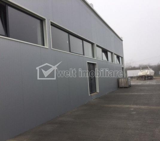 Hala - Depozit pt productie sau depozitare 800mp, 4 usi, zona Rompetrol Floresti