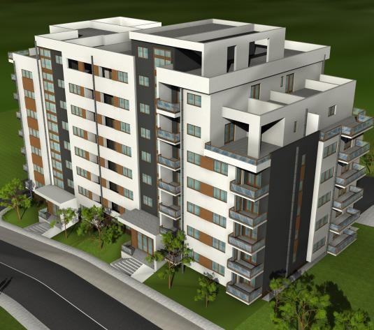 Apartamente  semifinisate,de vanzare, Baciu - imagine 1