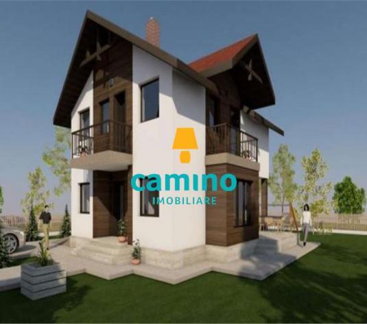 Casa cu 4 cam, ctie noua, zona Apahida cu garaj