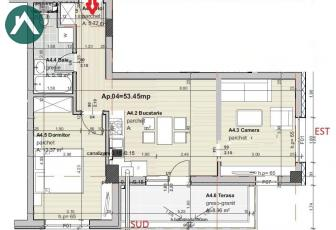Apartament 3 camere. Nou. Parcare inclusa!