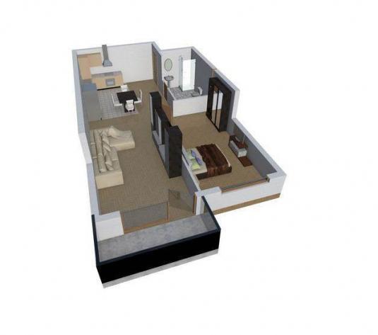 08. Apartament de vanzare, 2 camere, Dambul Rotund