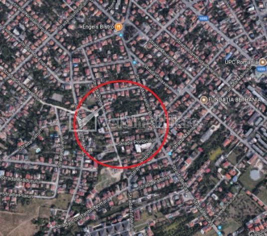 Teren de vanzare in Andrei Muresanu, front la 2 strazi, pozitie deosebita