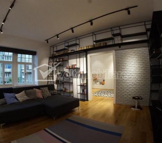 Apartament de lux, 3 camere, semidecomandat, 125mp utili, zona strazii Horea!