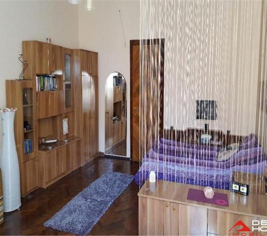 Apartament 1 camera Centru, 44 mp, finisat, curte, vila interbelica