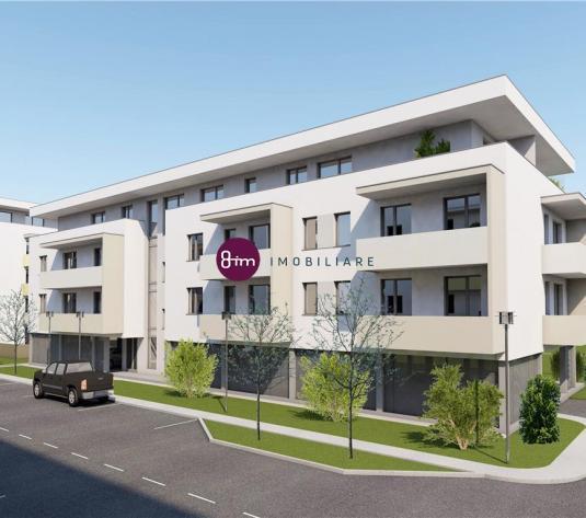 Vanzare apartament 2 camere, 54 mp, cu terasa de 25 mp, Zona Aeroport !!