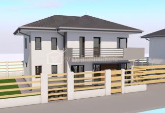 Casa individuala 5 camere, 118mp utili, 400mp teren, zona Baciu!