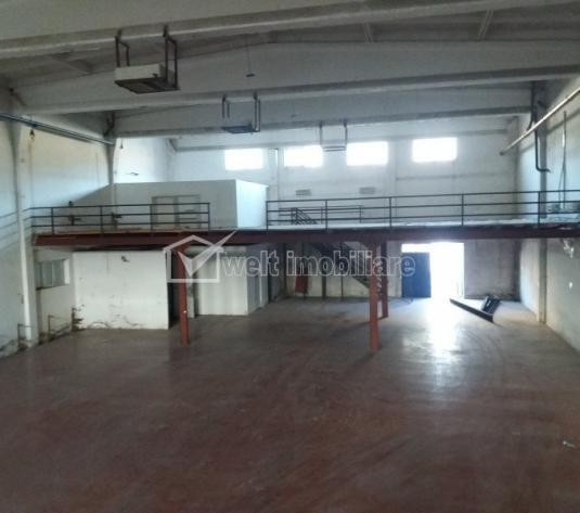 Hala 650mp utili, birouri, vestiare, acces TIR, H=8m, zona Clujana