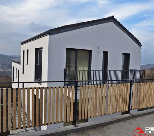 Casa tip duplex in Borhanci, 110 mp, semifinisata, panorama superba