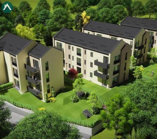 Apartamente 2 camere de vanzare, 54 mp, 1170 eur/mp, Ansamblu de top - imagine 1