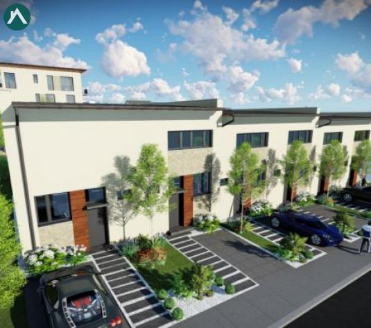 Case insiruite cu 3 camere, terasa si gradina, 96mp, zona Europa, direct de la constructor - imagine 1