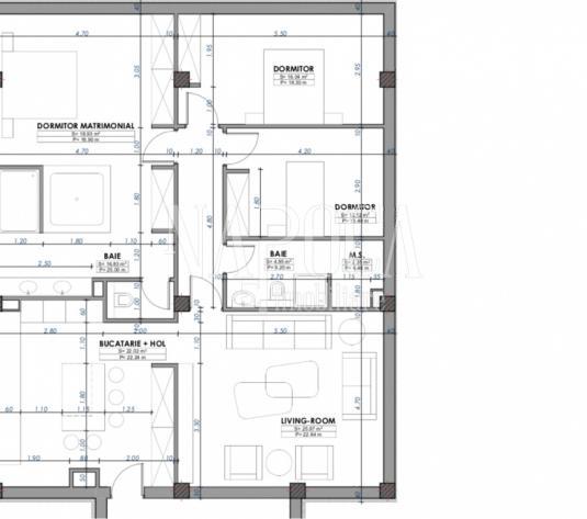 Apartament 4  camere de vanzare in Borhanci, Cluj Napoca - imagine 1