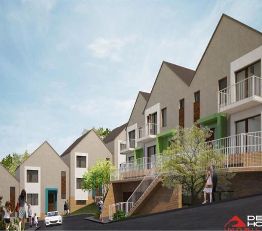 Casa in ansamblu nou de case insiruite, 137 mp utili, terase 17 mp - imagine 1