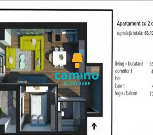 Ap 2 cam, ctie 2018, et int, Gheorgheni zona Iulius Mall - imagine 1