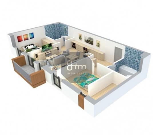 Apartament 76 mp 3 camere 2 bai Parcare Etaj Intermediar zona Eroilor ! - imagine 1