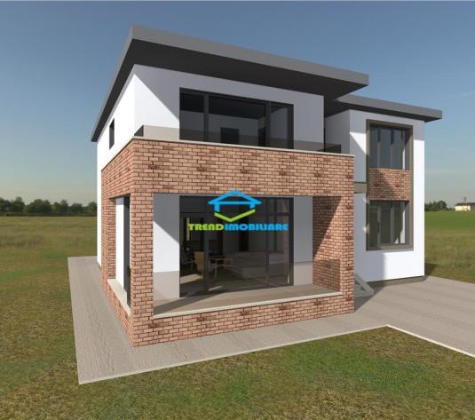 Casa individuala 207 mp utili 800 mp teren Panorama deosebita - imagine 1