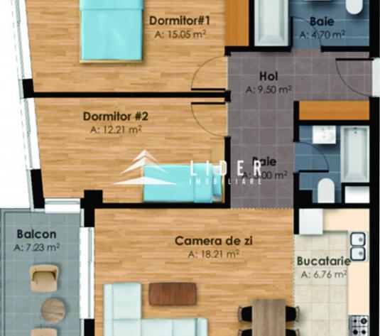 Apartamente 3 camere imobil nou zona Semicentrala - imagine 1