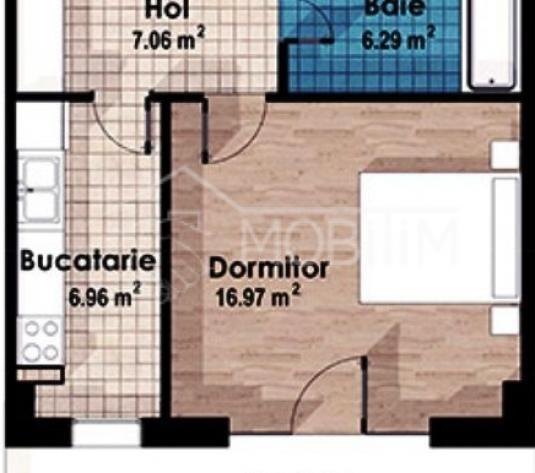 Apartament 1 camera imobil nou cart Europa - Cluj-Napoca - imagine 1