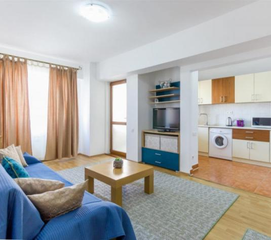 Vanzare Apartament 2 camere 57 mp Etaj Intermediar Logie 7 mp Ideal Regim Hotelier zona Dorobantilor ! - imagine 1