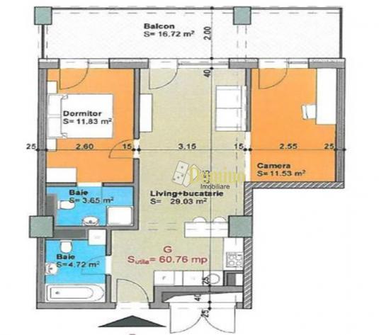3 Camere, Ansablu de lux cu facilitati ireprosabile, Zona Iulius Mall - imagine 1